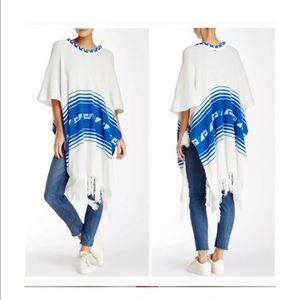 NWT Wildfox White Label Frida Poncho